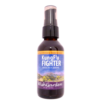 Kung Fu Fighter | Herbal Support for Throat and Bronchial Irritation