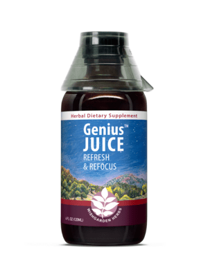 Genius Juice | Herbal Support for Mental Clarity and Focus