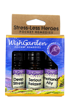 Stress-Less Heroes | Herbal Formulas for Stress