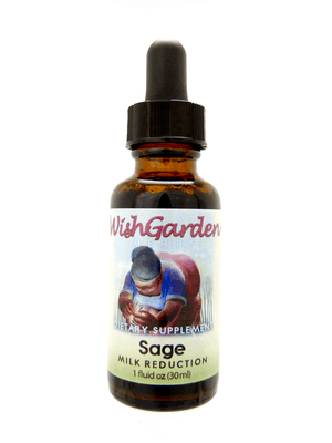 Sage | Natural Breast Milk Reduction